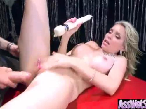 Slut girl (courtney cummz) with big ass get blond and anal banged mov-12